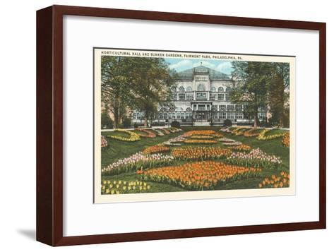 Horticultural Hall, Philadelphia, Pennsylvania--Framed Art Print