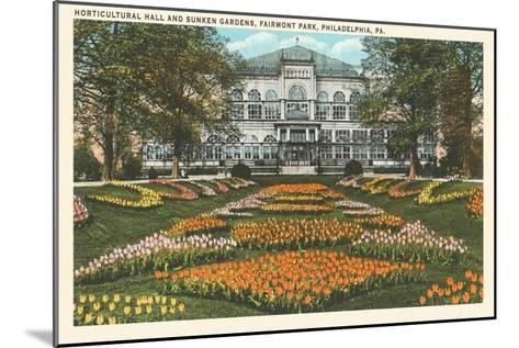 Horticultural Hall, Philadelphia, Pennsylvania--Mounted Art Print