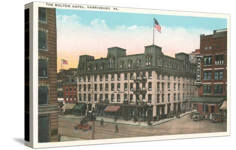 Bolton Hotel, Harrisburg, Pennsylvania--Stretched Canvas Print