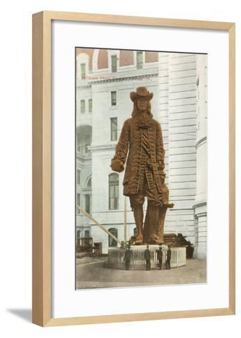William Penn Statue, Philadelphia, Pennsylvania--Framed Art Print