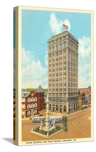 Griest Building, Lancaster, Pennsylvania--Stretched Canvas Print