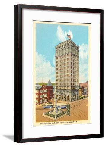 Griest Building, Lancaster, Pennsylvania--Framed Art Print