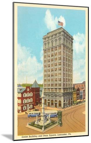Griest Building, Lancaster, Pennsylvania--Mounted Art Print