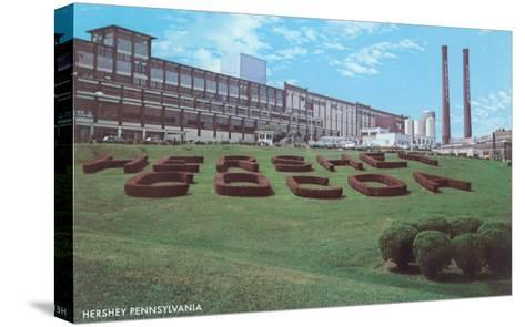 Factory Lawn, Hershey, Pennsylvania--Stretched Canvas Print