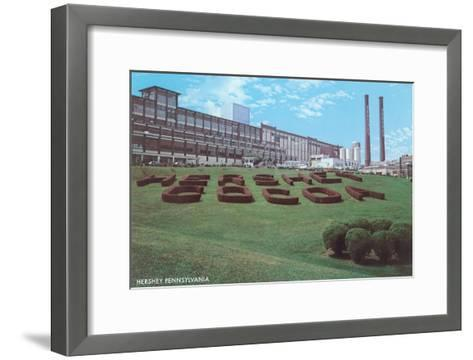 Factory Lawn, Hershey, Pennsylvania--Framed Art Print