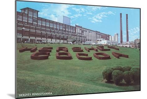 Factory Lawn, Hershey, Pennsylvania--Mounted Art Print