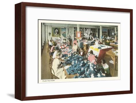 Flag Factory--Framed Art Print