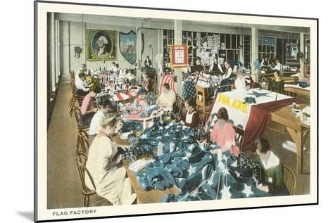 Flag Factory--Mounted Art Print