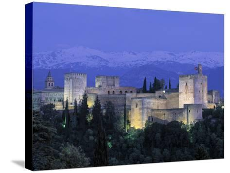 Alhambra Palace, Granada, Andalucia, Spain-Gavin Hellier-Stretched Canvas Print