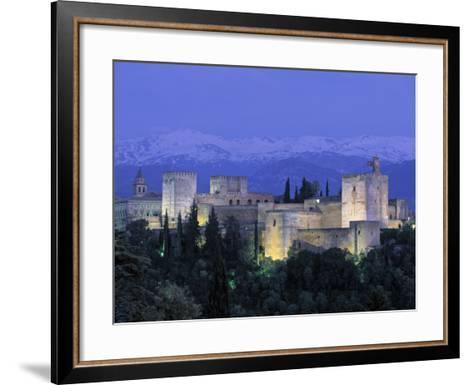 Alhambra Palace, Granada, Andalucia, Spain-Gavin Hellier-Framed Art Print