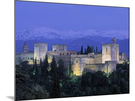 Alhambra Palace, Granada, Andalucia, Spain-Gavin Hellier-Mounted Photographic Print