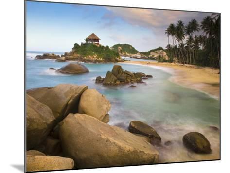 Colombia, Magdalena, Park Nacional Natural Tayrona, El Cabo, Beach-Jane Sweeney-Mounted Photographic Print