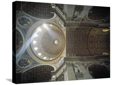 St. Peter's Basilica, Vatican, Rome, Italy-Jon Arnold-Stretched Canvas Print