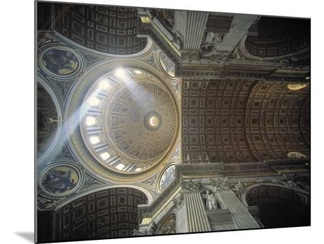 St. Peter's Basilica, Vatican, Rome, Italy-Jon Arnold-Mounted Photographic Print