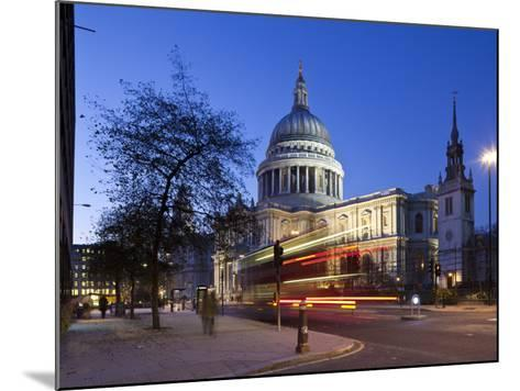 St. Paul's Cathedral, London, England-Jon Arnold-Mounted Photographic Print