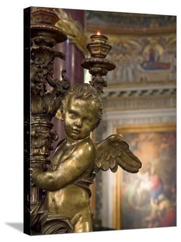 Santa Maria Maggiore, Rome, Italy-Michele Falzone-Stretched Canvas Print