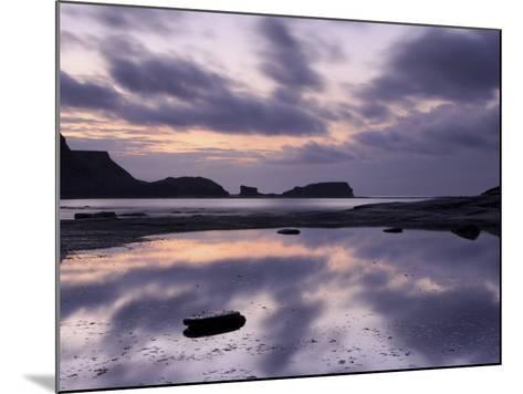 Seascape, Staithes, North Yorkshire, England, UK-Nadia Isakova-Mounted Photographic Print