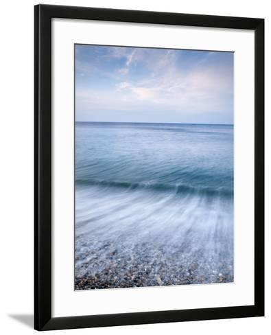 Seascape, Durdle Door Beach, Dorset, UK-Nadia Isakova-Framed Art Print