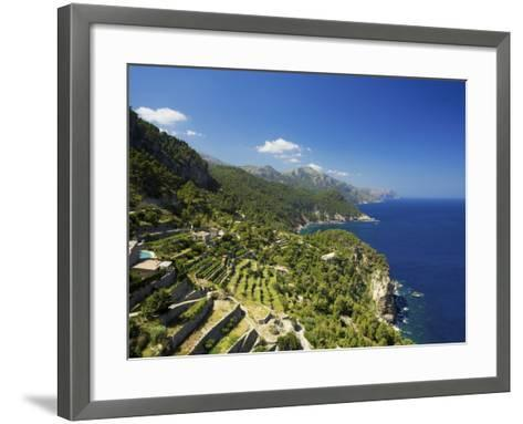 View from Mirador De Ses Animes, Mallorca, Spain-Neil Farrin-Framed Art Print