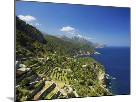 View from Mirador De Ses Animes, Mallorca, Spain-Neil Farrin-Mounted Photographic Print