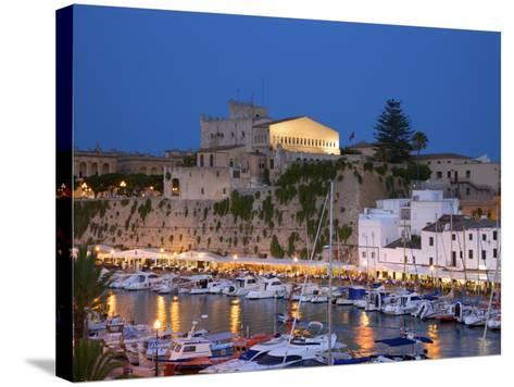 Harbour, Ciutadella, Menorca, Spain-Neil Farrin-Stretched Canvas Print