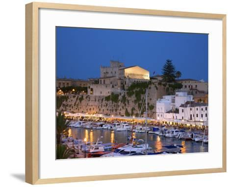 Harbour, Ciutadella, Menorca, Spain-Neil Farrin-Framed Art Print