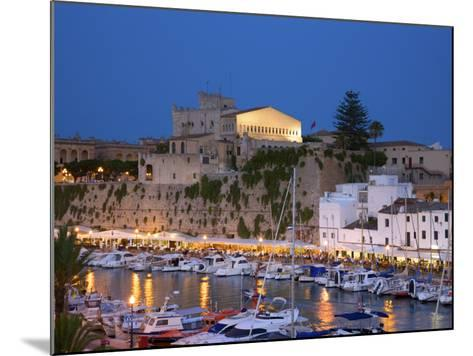 Harbour, Ciutadella, Menorca, Spain-Neil Farrin-Mounted Photographic Print