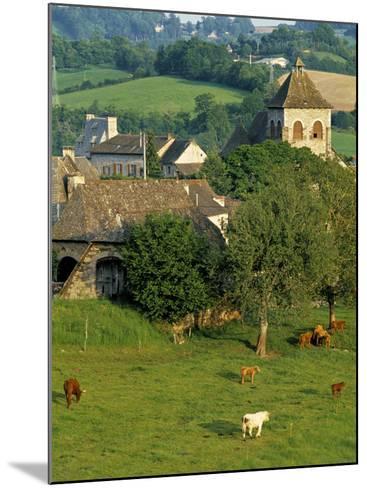 Junac, Montsalvy, Auvergne, France-Peter Adams-Mounted Photographic Print