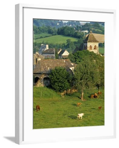 Junac, Montsalvy, Auvergne, France-Peter Adams-Framed Art Print