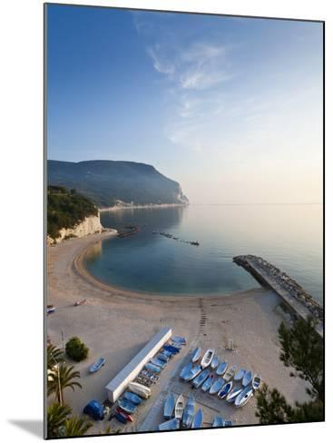Beach, Sirolo, Marche, Italy-Peter Adams-Mounted Photographic Print