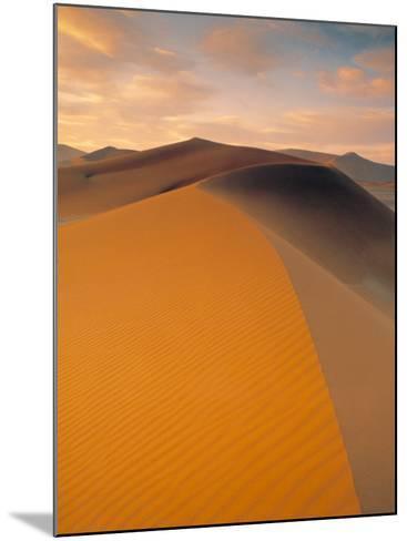 Sand Dune in Desert, Namib Desert, Namibia-Peter Adams-Mounted Photographic Print