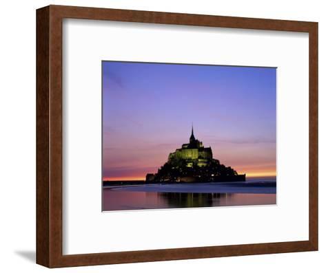 Mont St. Michel, Normandy, France-Steve Vidler-Framed Art Print