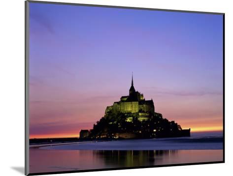 Mont St. Michel, Normandy, France-Steve Vidler-Mounted Photographic Print