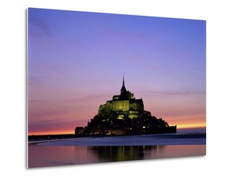 Mont St. Michel, Normandy, France-Steve Vidler-Metal Print
