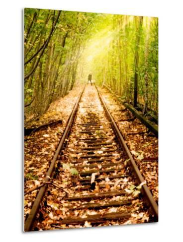 Light at the End of the Line-Nathan Wright-Metal Print