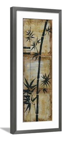 Patinaed Bamboo II-Jennifer Goldberger-Framed Art Print
