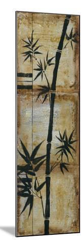 Patinaed Bamboo II-Jennifer Goldberger-Mounted Art Print