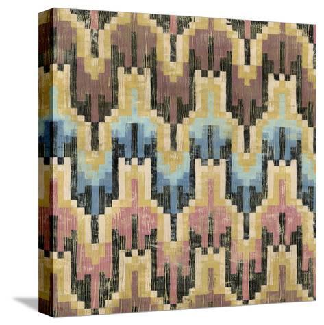 Flame Stitch I-Chariklia Zarris-Stretched Canvas Print