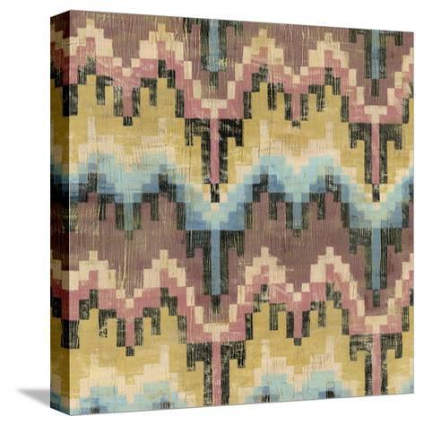 Flame Stitch IV-Chariklia Zarris-Stretched Canvas Print