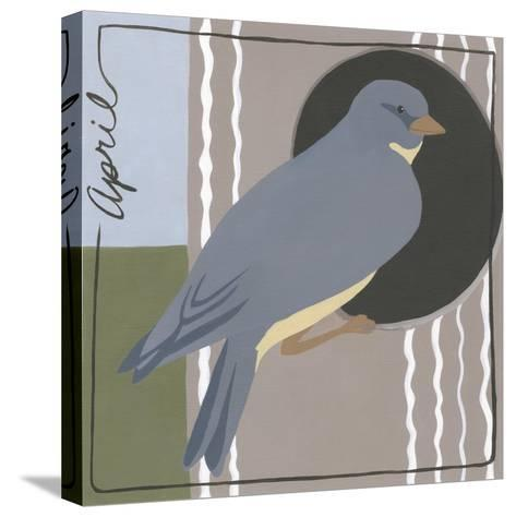 Avian April-Megan Meagher-Stretched Canvas Print