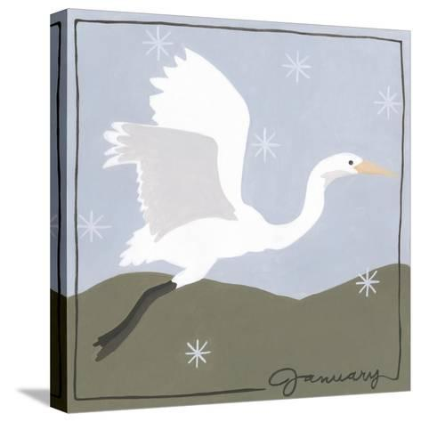 Avian January-Megan Meagher-Stretched Canvas Print
