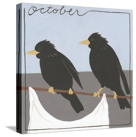 Avian October-Megan Meagher-Stretched Canvas Print