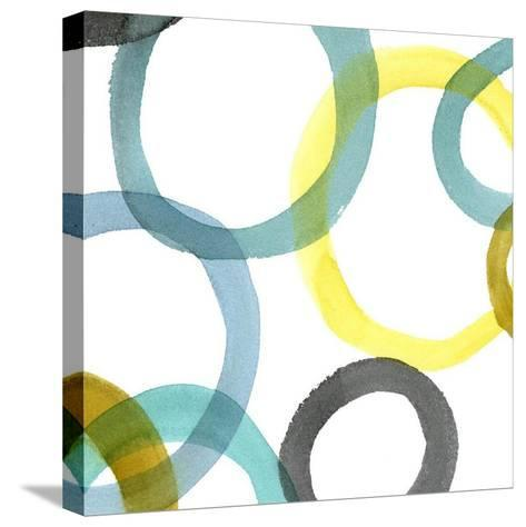 Non-Embellished Round and Round II--Stretched Canvas Print