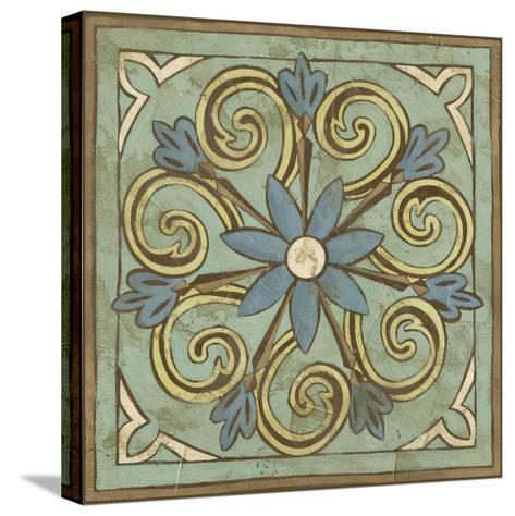Non-Embellished Ornamental Tile III--Stretched Canvas Print