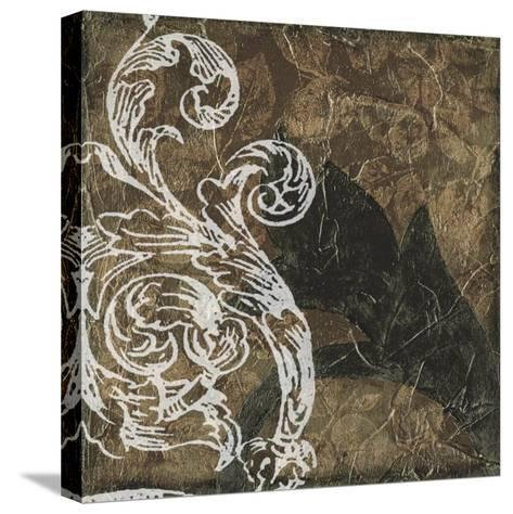 Non-Embellished Scroll 9 Patch I--Stretched Canvas Print