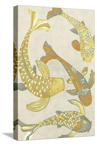 Golden Koi I-Chariklia Zarris-Stretched Canvas Print