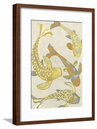 Golden Koi I-Chariklia Zarris-Framed Art Print
