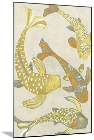 Golden Koi I-Chariklia Zarris-Mounted Art Print