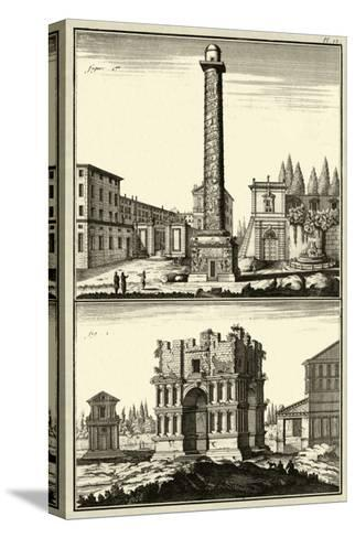 The Column of Trajan-Denis Diderot-Stretched Canvas Print