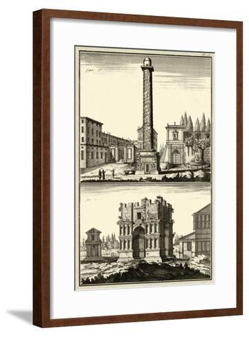 The Column of Trajan-Denis Diderot-Framed Art Print